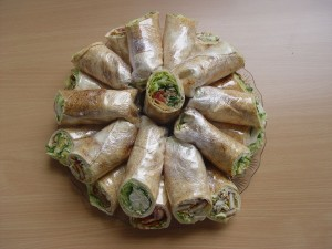 Small Wraps Platter