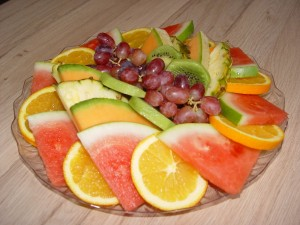 Small Fruit Salad Platter