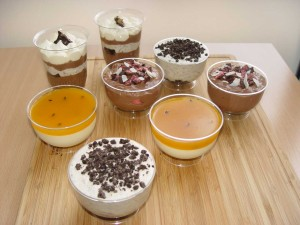 Mixed Dessert Cups x 8