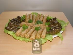 Vine leaf & Cabbage rolls Platter