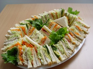 Mixed Point Sandwich Platter