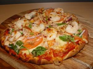 Prawn & Veg Pizza