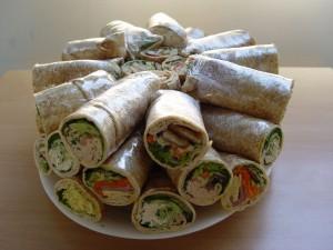 Wraps Platter