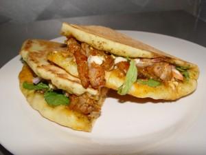 Mediterranean lamb kebab